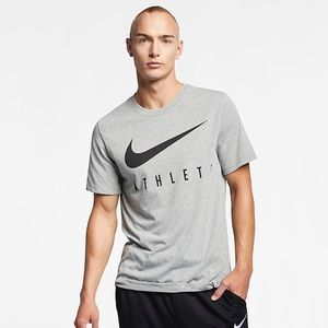"The Nike Athlete Tee w/ ""Swoosh"" Sign"